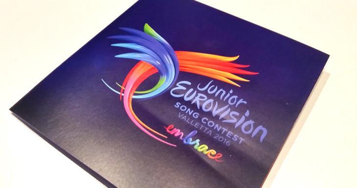 El logo y lema de Eurovisión Junior 2016
