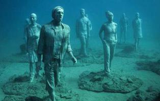 El museo de estatuas submarinas que puedes visitar en Lanzarote