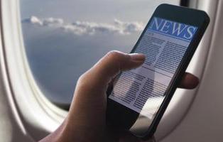 ¿Qué puede ocurrir si no activas el modo avión en tu teléfono móvil durante un vuelo?