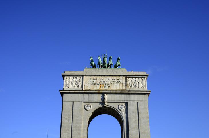 El Arco de la Victoria, uno de los símbolos franquistas de Madrid