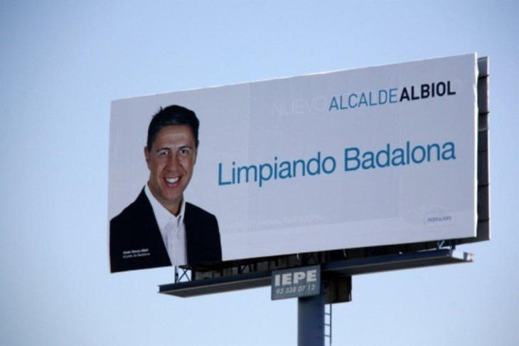 Xavier García Albiol en su ambigua campaña electoral