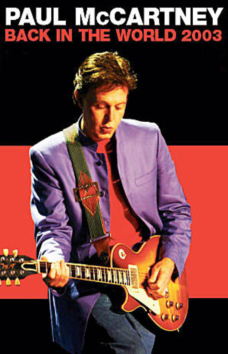 McCartney volvió a Barcelona en 2003