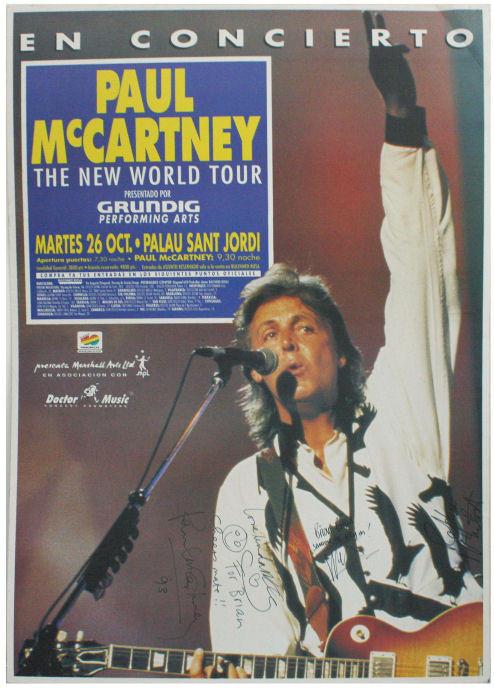 Concierto de Paul McCarney en Barcelona (1993)