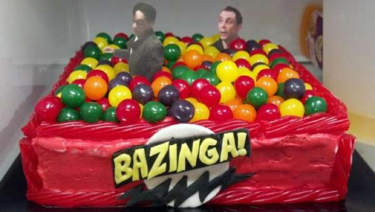 La tarta de 'Big Bang Theory'
