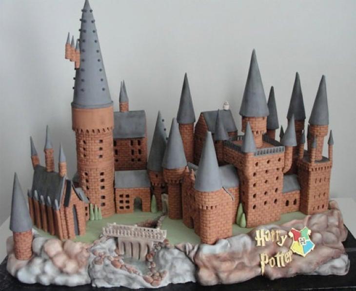 Una perfecta recreación de Hogwarts, el colegio de Harry Potter (Cherry Bay Cakery)