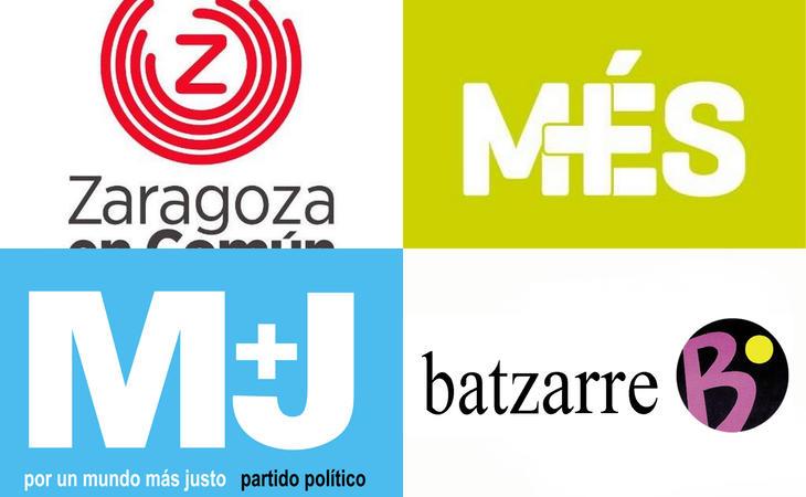 Algunos de los otros partidos que integran Unidos Podemos