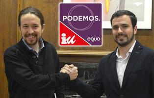 Las decenas de partidos que componen realmente Unidos Podemos