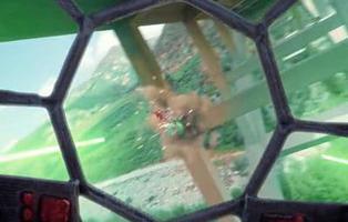 Unos fans recrean con drones una de las épicas batallas de 'Star Wars'