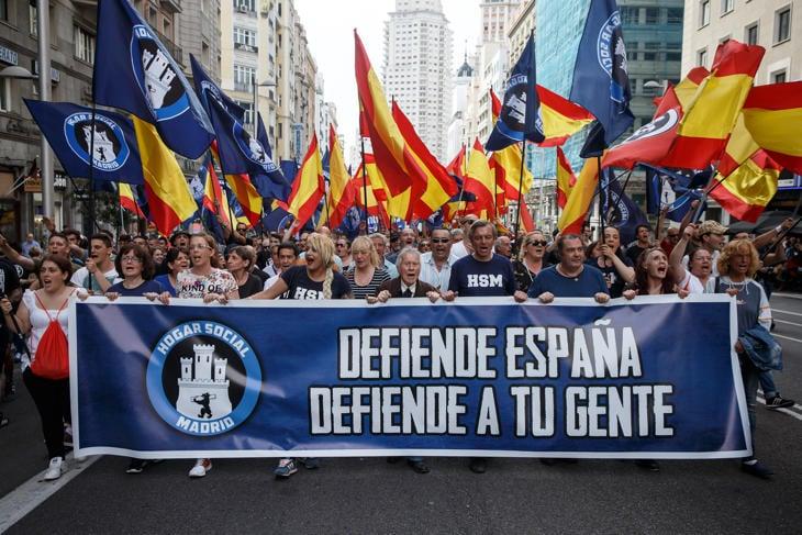 Manifestación del Hogar Social Madrid, el sábado 21 de mayo