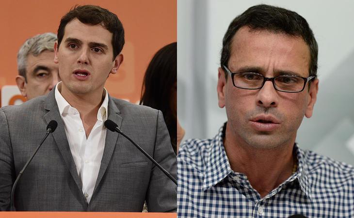 Rivera y Capriles, como si fueran perfectos cuñados