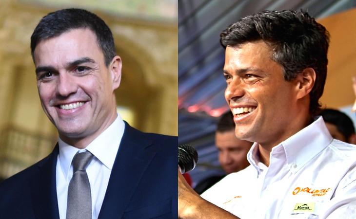 Sánchez y Leopoldo López. En serio, basta de parecidos razonables