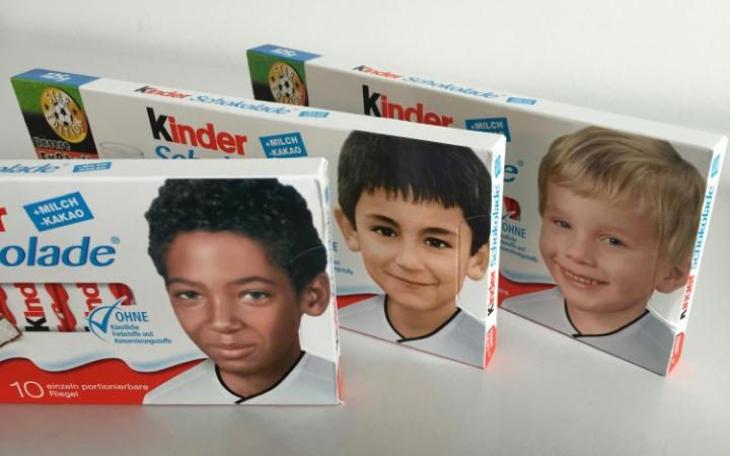 Las nuevas cajas de Kinder para la Eurocopa 2016