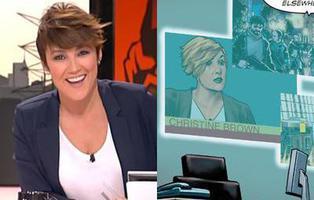 Cristina Pardo y otras apariciones de famosos españoles en cómics de superhéroes