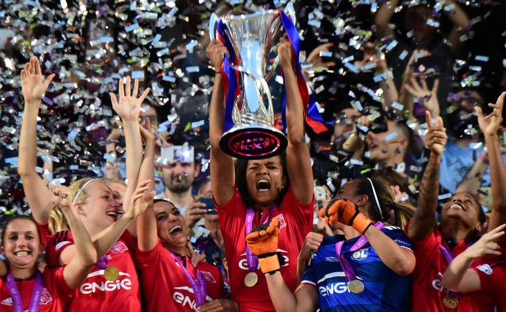 El Lyon ganó la UEFA femenina en mayo