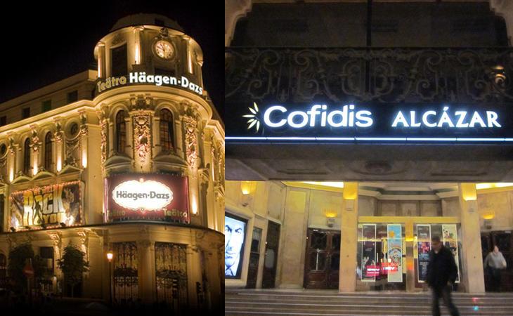 Teatros patrocinados (Pequepolis/Madriz Con Agallas)