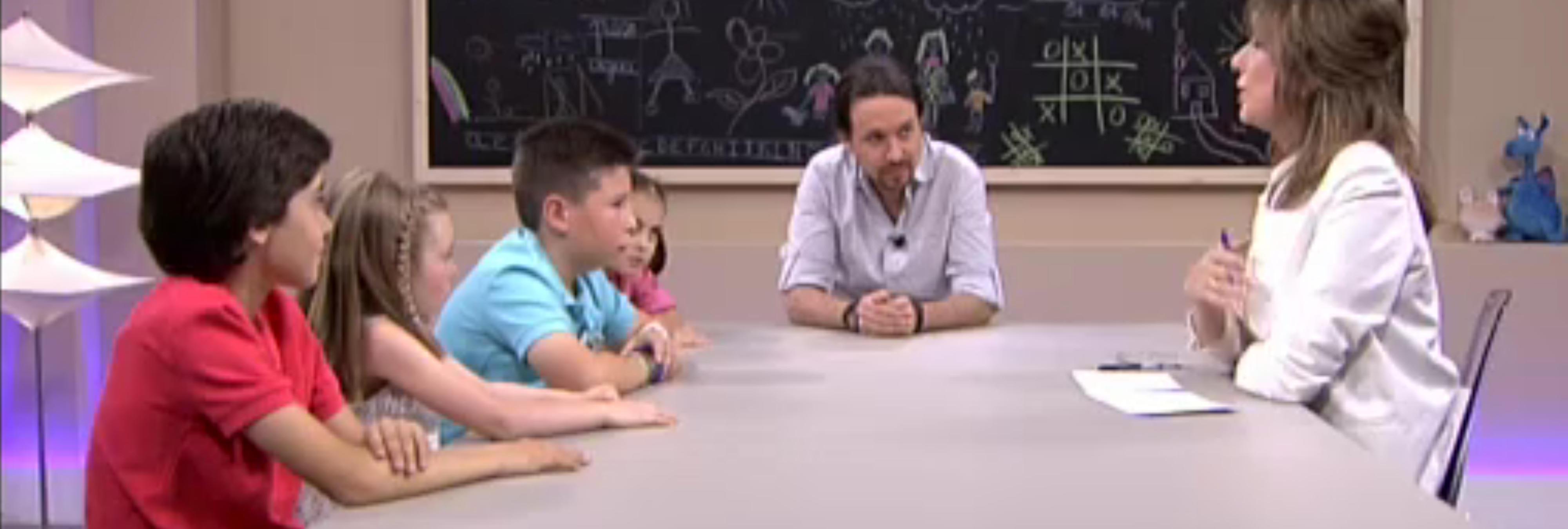 Hay un programa en el que niños entrevistan al futuro presidente de España que nos ha dejado con el culo muy torcido