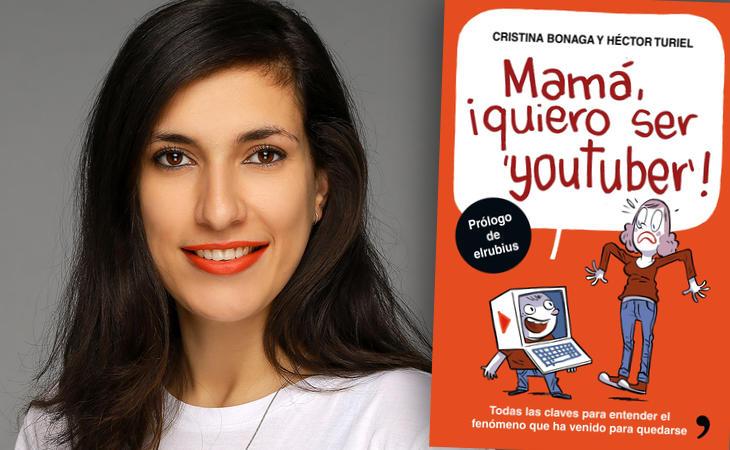 Cristina Bonaga, una de los autores de 'Mamá, ¡quiero ser youtuber!'
