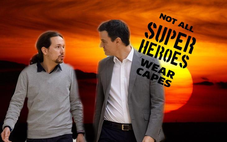 No todos los superhéroes llevan capa