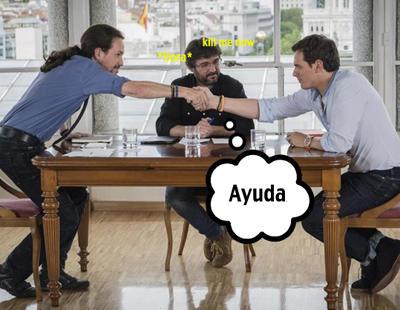 8 cosas que Iglesias y Rivera querían haberse dicho en el debate y no lo hicieron