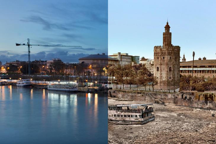 El Guadalquivir se secará si el Ártico continúa siendo destruído