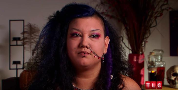 Michelle en el programa de TLC