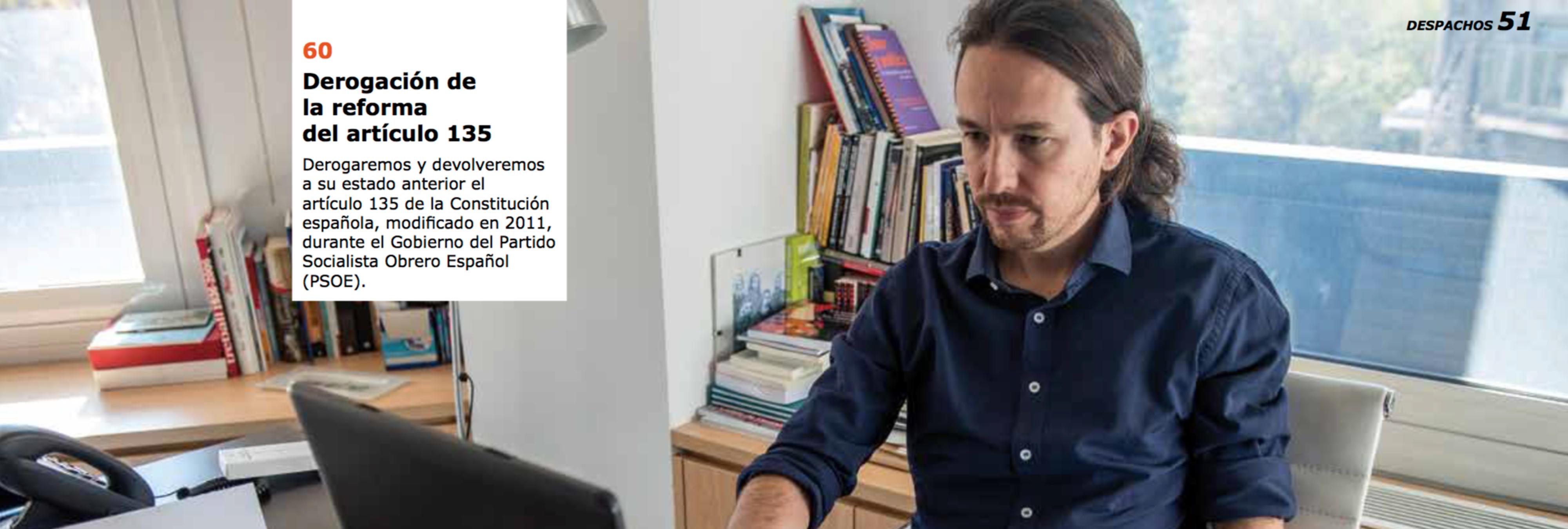 17 cosas del programa de Ikea de Podemos que son muy tróspidas para alguien que no ha entendido nada