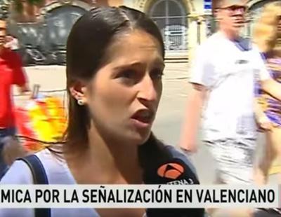 Antena 3 hace pasar a una periodista por una turista que no entiende valenciano