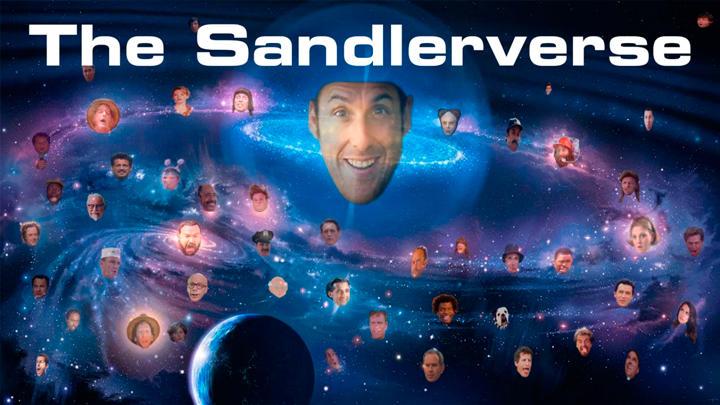 ¿Están todas las películas de Adam Sandler conectadas?