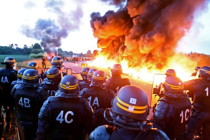 Huelga en Francia el pasado mayo