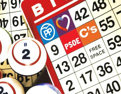 El bingo del 'Debate a 4' entre PP, Unidos Podemos, PSOE y Ciudadanos