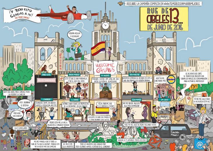 '13 Rue de Cibeles', la parodia de Carmena