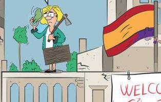 '13 Rue de Cibeles', la parodia del PP al Ayuntamiento de Carmena con okupas, comunistas y colocaos