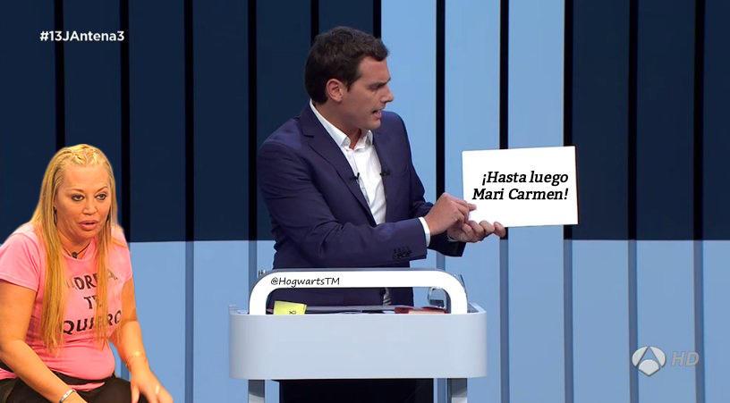 ¡Hasta luego Mari Carmen! #Debate13J