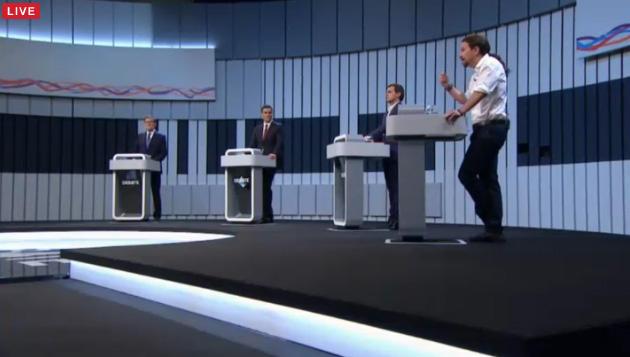 Iglesias, único que se moja: Gobierno PSOE+UP con presidente de la lista más votada #Debate13J