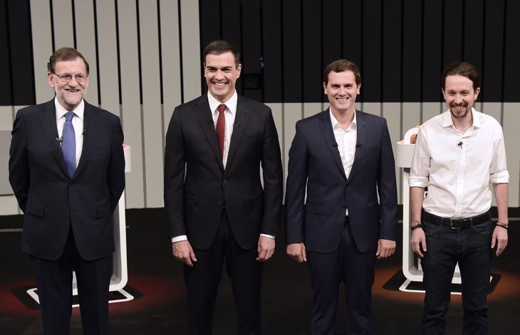 Los candidatos del debate
