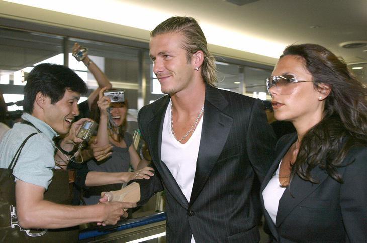 David y Victoria Beckham antes de que ella dijera que 'España olía a ajo'