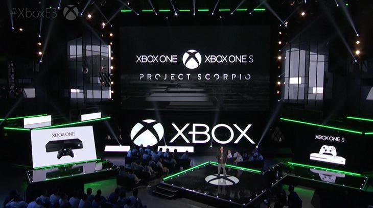 Momento de la conferencia en que Microsoft mostró el futuro de Xbox One
