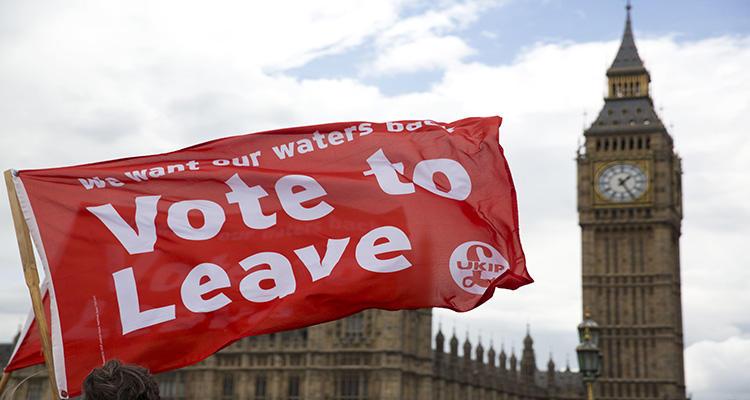 Algunos partidos utilizan el nacionalismo como argumento para el Brexit