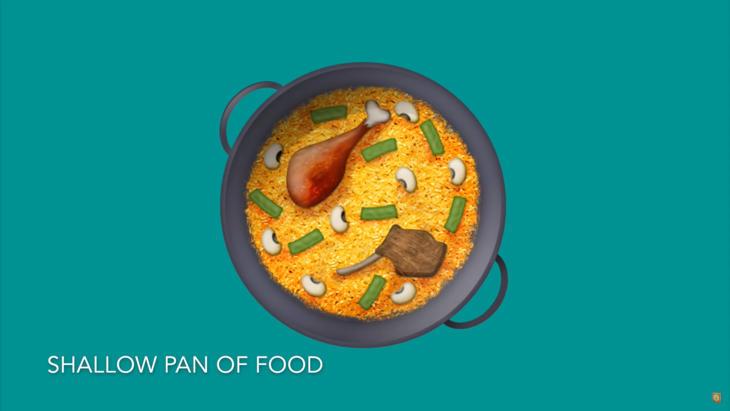 Por fin tenemos el emoji de la paella (Emojipedia)