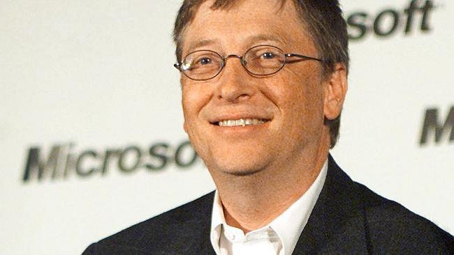 Bill Gates, cofundador de Microsoft, empresario, informático y filántropo estadounidense