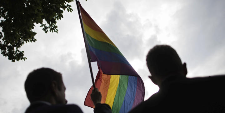 La bandera gay, un símbolo en el Club Pulse