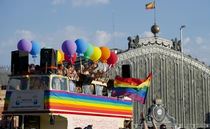 El Orgullo en Madrid