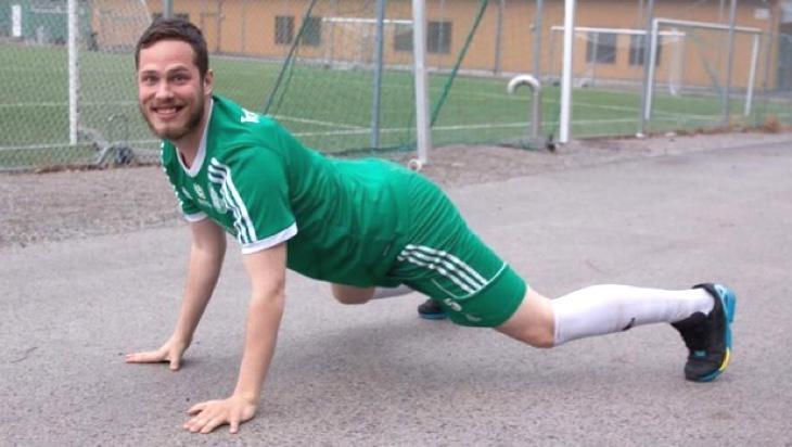 Ljungkvist, el futbolista en cuestión según algunos medios