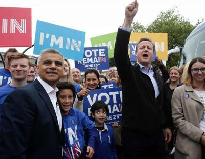 Londres pide la independencia ante los resultados del Brexit