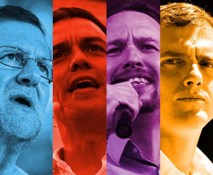 Primer sondeo: PP 117-121, UP 91-95, PSOE 81-85, Cs 26-30