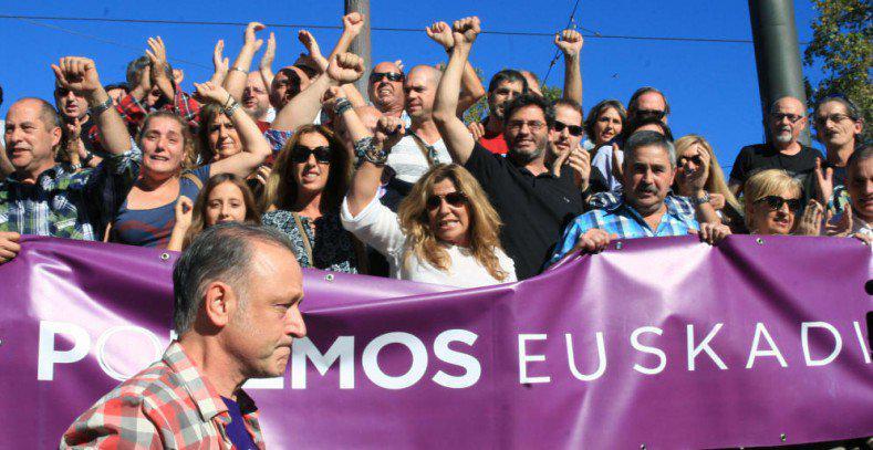 En País Vasco (50,24%) UP se convertiría en primera opción con 7 diputados