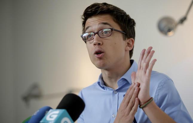 Íñigo Errejón valora con prudencia los resultados provisionales: