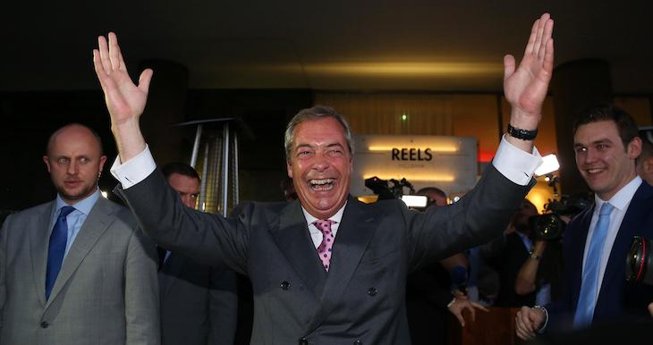 La victoria del Brexit ha dado alas a Nigel Farage, líder de Ukip
