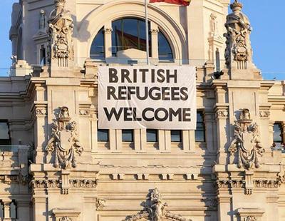 El meme de 'British Refugees Welcome' está causando confusión en Reino Unido