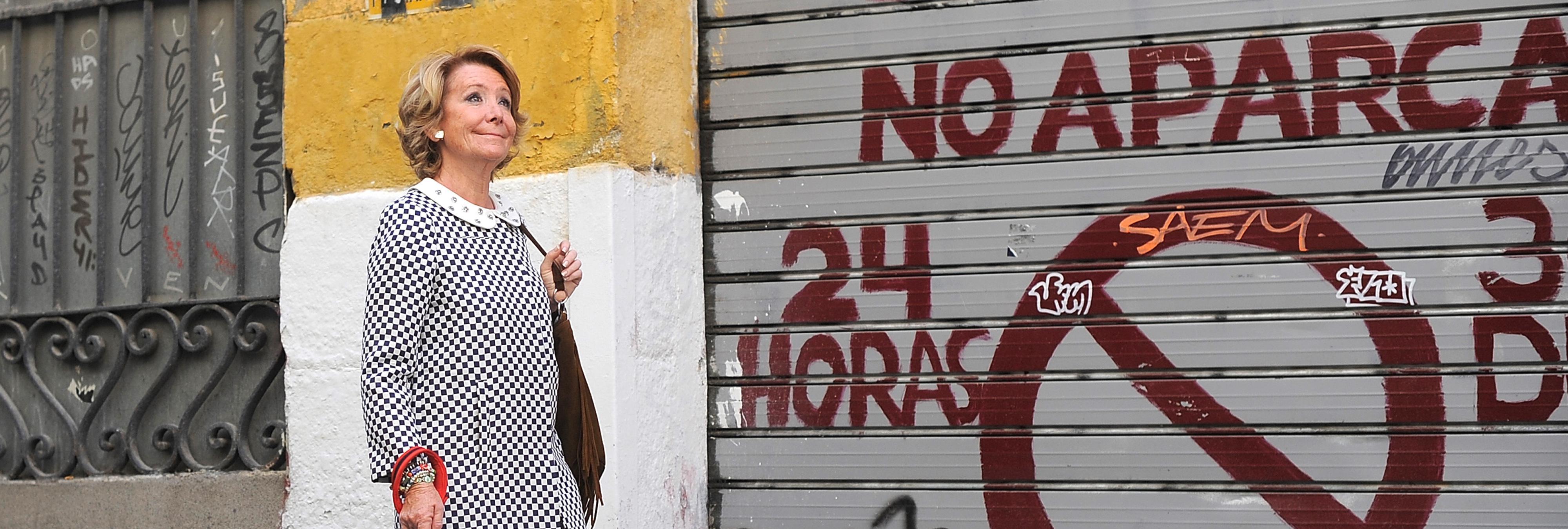 La llamada de teléfono de Esperanza Aguirre se convierte en carne de memes